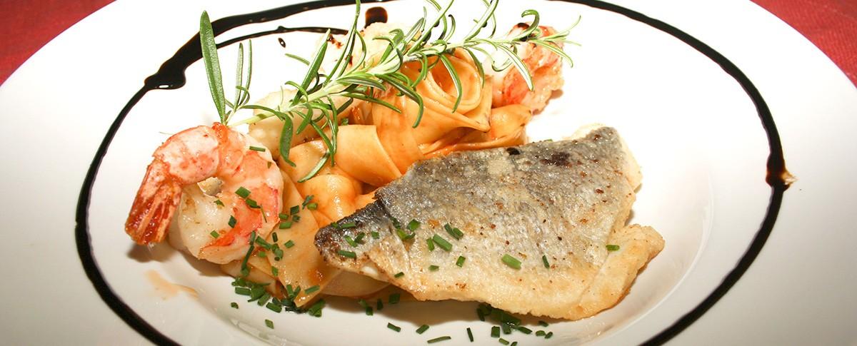 Hauptspeise in Restaurant Bastei