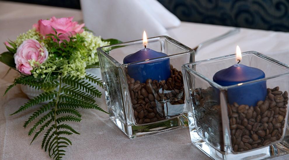 Feiern Sie Hochzeit im blauen Salon