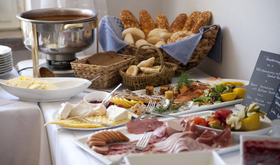 Frühstücksbuffet in Mühldorf am Inn