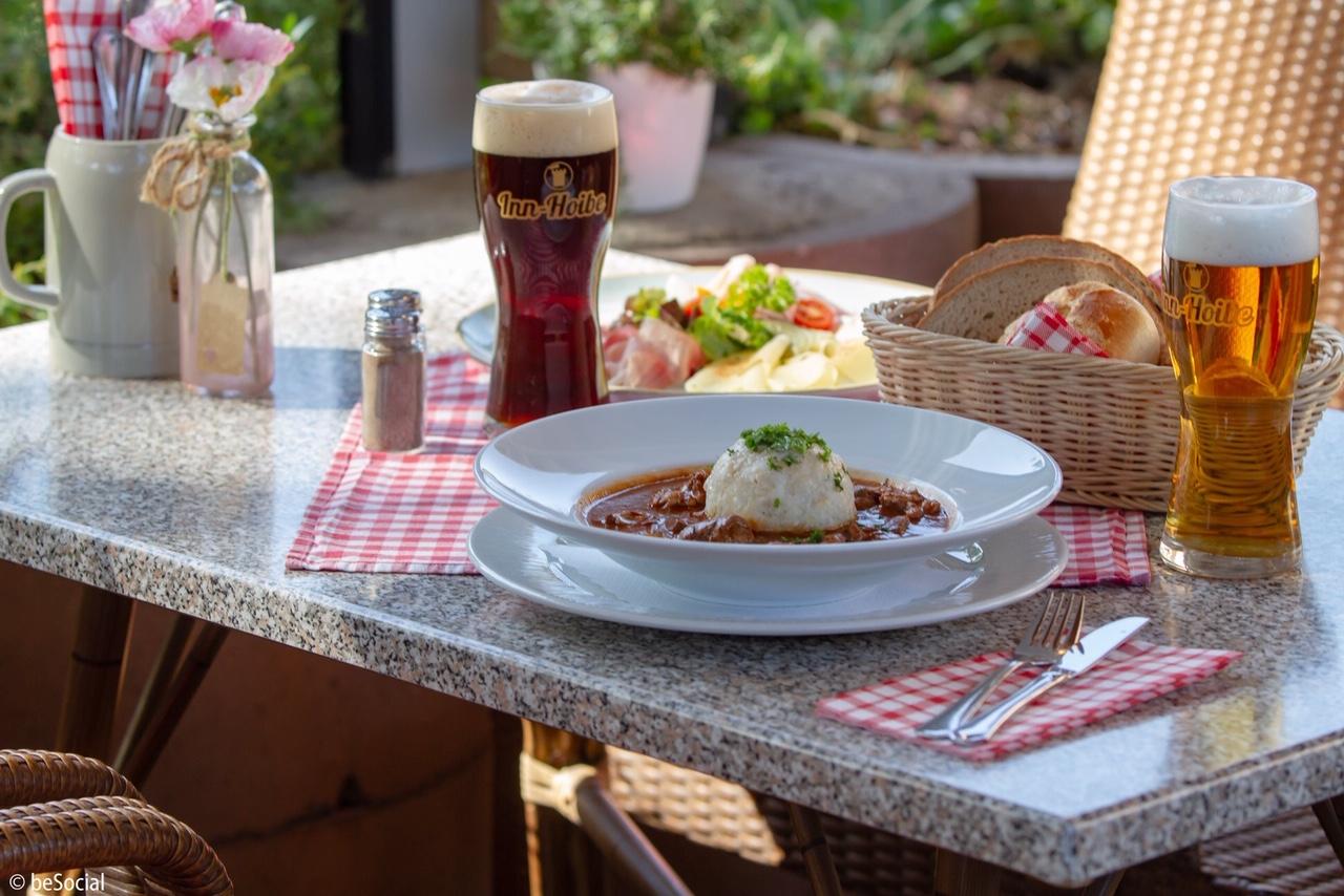 Biergarten in Mühldorf am Inn